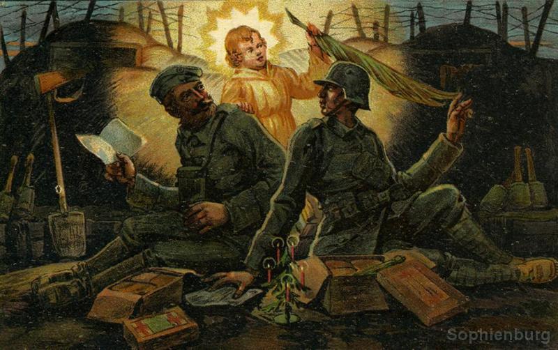World War I post card, circa 1914.