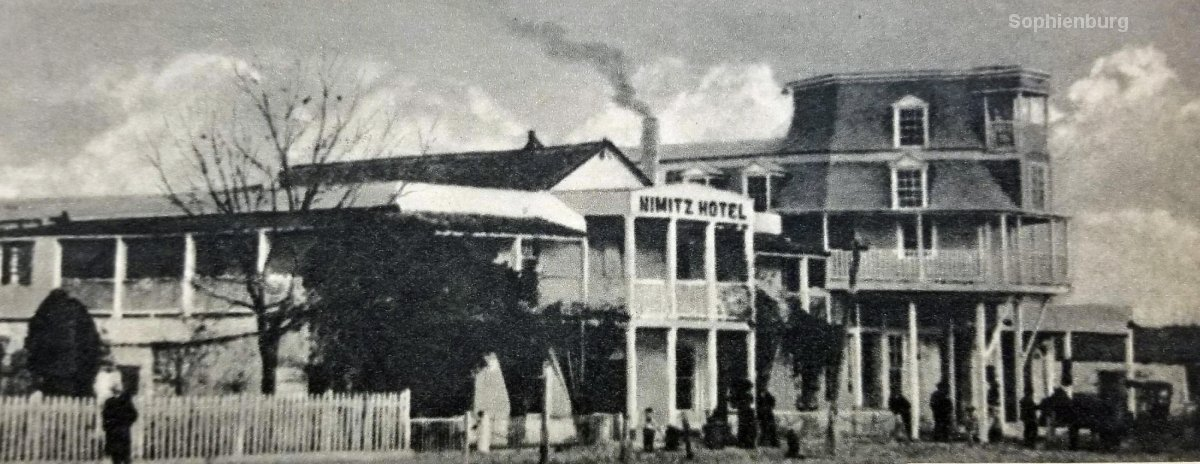 Nimitz Hotel, news clipping, Haas collection