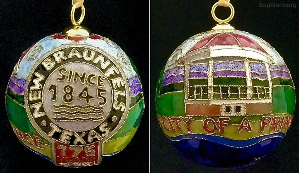 New Braunfels 175th Anniversary Ornament
