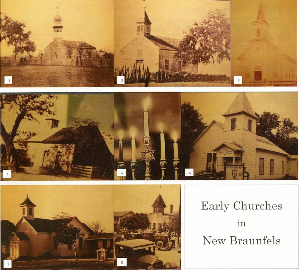 Early churches montage.