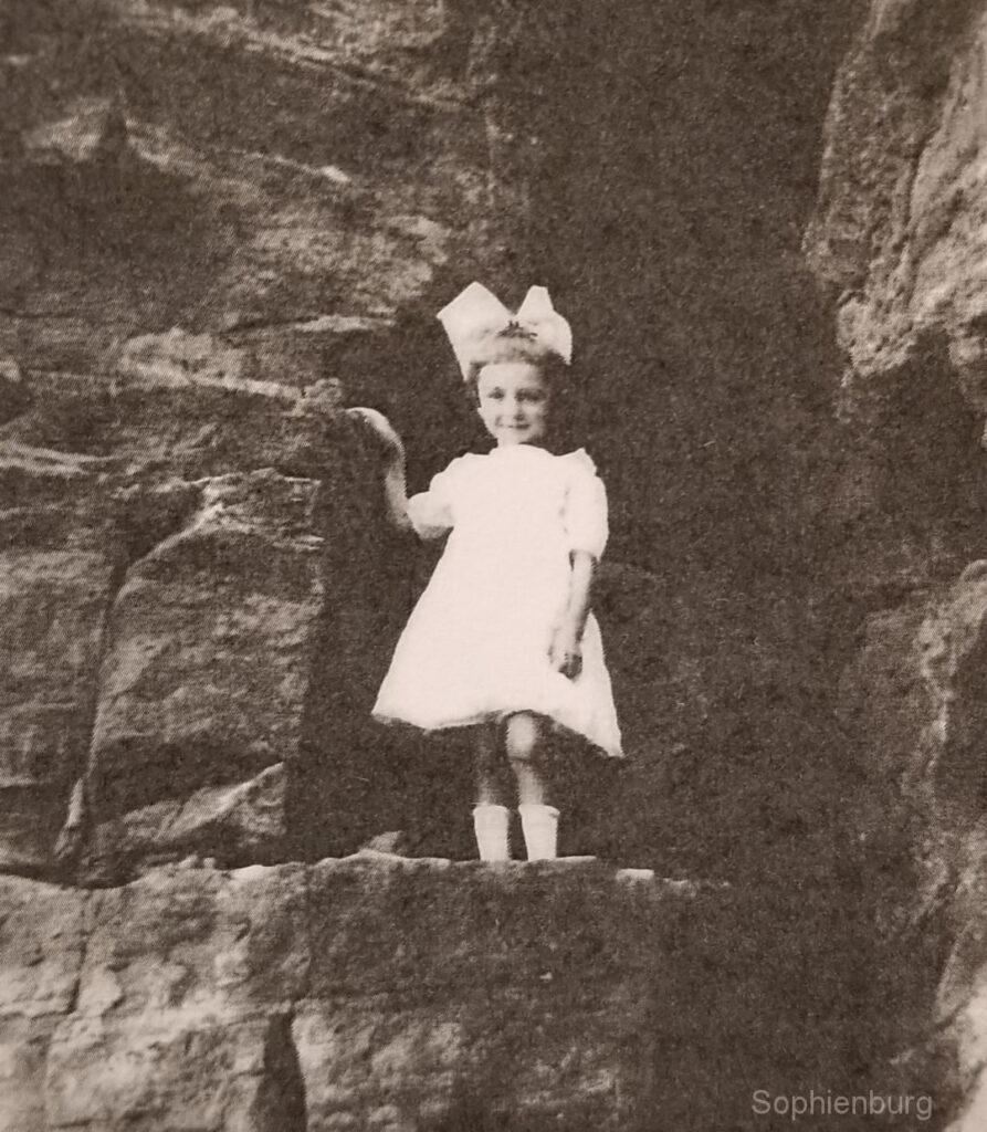Nine-year-old Irene Hitzfelder